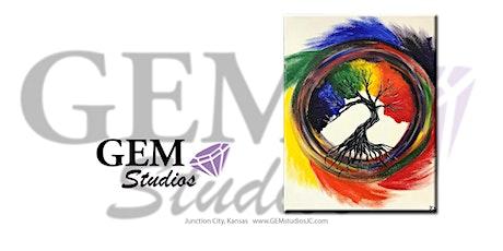 Swirl Rainbow Painting tickets