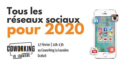"""Formation: """"Tous les réseaux sociaux pour 2020"""""""