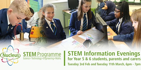 Nucleus STEM Information Evening for Primary Students tickets