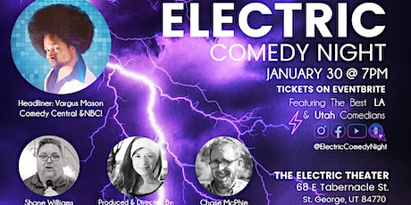 Electric Comedy Night Jan 30th tickets