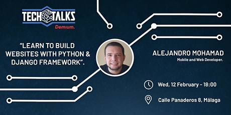 Learn to build websites with Python and the Django framework tickets