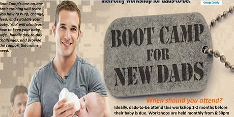 BOOT CAMP FOR NEW DADS- For Healthy Start and BBB Clients Only tickets