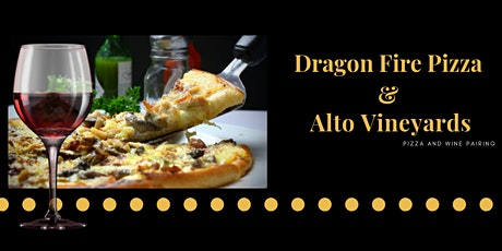 Wine Pairing with Dragon Fire Pizza tickets