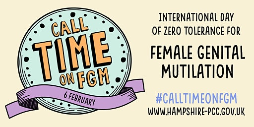 Call Time on FGM Community Event