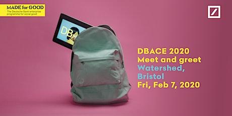 DBACE 2020 - Bristol Meet & Greet tickets