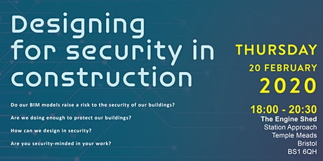 CIAT Wessex | Designing for Security in Construction tickets