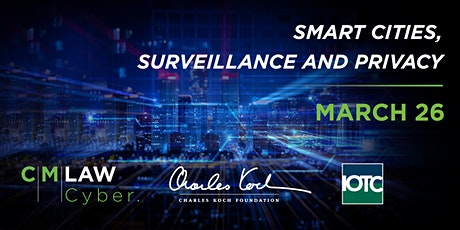 Smart Cities, Surveillance and Privacy  tickets