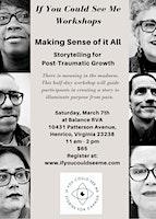 IYCSM Workshops: Storytelling for Post-Traumatic Growth
