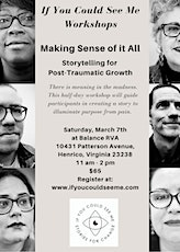 IYCSM Workshops: Storytelling for Post-Traumatic Growth tickets