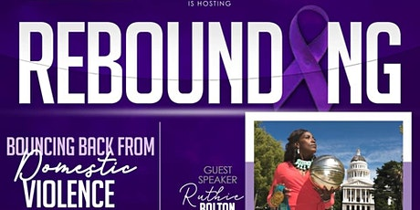 """Rebounding """"Bouncing Back From Domestic Violence"""" tickets"""