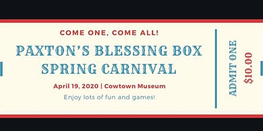 Paxton's Blessing Box Spring Carnival