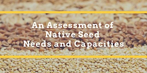 NASEM Native Seed Needs Meeting #3