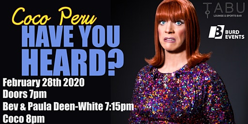 Coco Peru: Have You Heard?