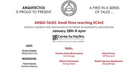 ARQUI-TALKS: Small Firms Reaching SCALE hosted by Arquitectos tickets