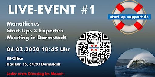 LIVE-Meeting #1 in Darmstadt