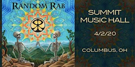 Random Rab at The Summit Music Hall tickets