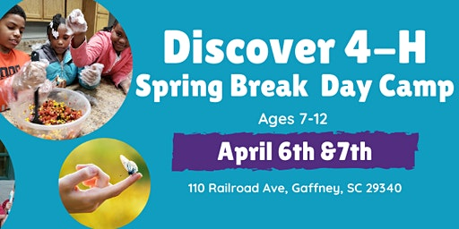 Discover 4-H Spring Break Day Camp Cherokee County