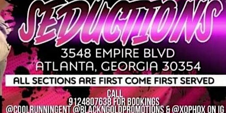 Book a Birthday, mix tape release party at Seduction ATL tickets