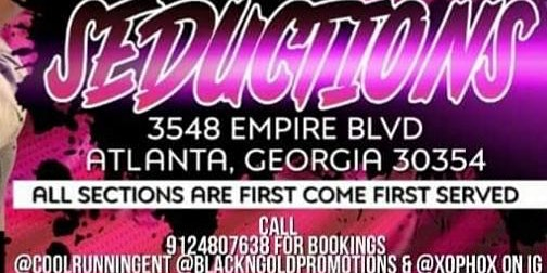 Book a Birthday, mix tape release party at Seduction ATL