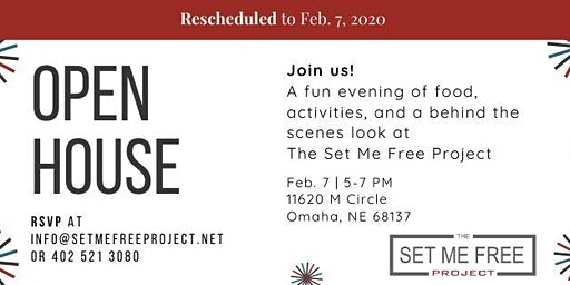 Open House! ~Rescheduled: Feb. 7th~