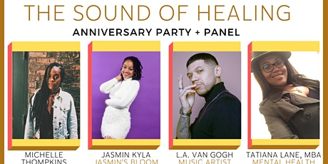 The Sound of Healing: Party & Panel tickets