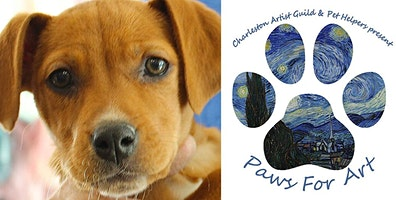 Paws for Art Fundraiser event