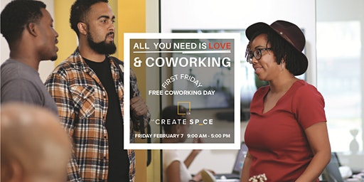 Free Co-working Day - All You Need is Love + Co-working!