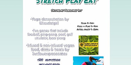 Whosdatgirll presents, stretch play, eat tickets