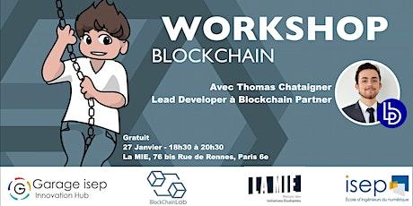 Workshop Blockchain tickets
