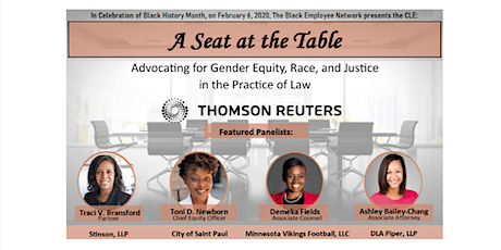 CLE: Thomson Reuters Black Employee Network Presents: A Seat at the Table tickets