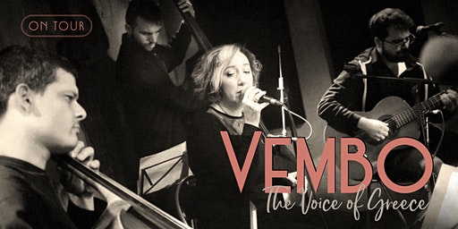 Vembo: The Voice of Greece. On Tour: Oxford