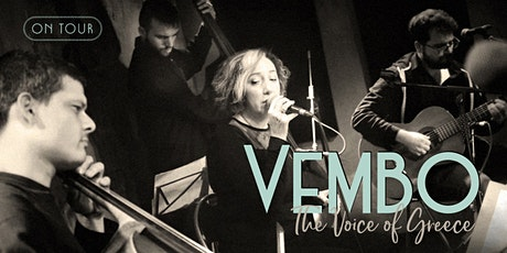 Vembo: The Voice of Greece. On Tour: Portsmouth tickets