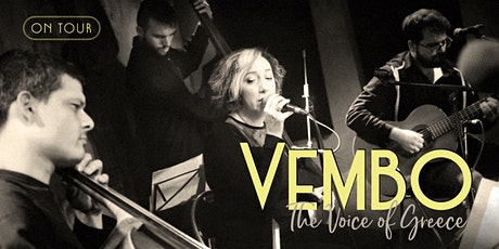 Vembo: The Voice of Greece. On Tour: London tickets