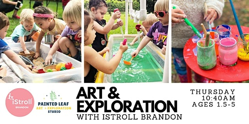 Pop-Up Art & Exploration with iStroll Brandon