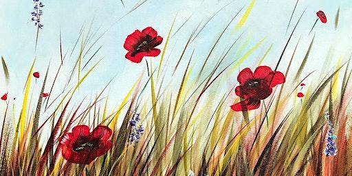 Poppy Field Brush Party – Wantage