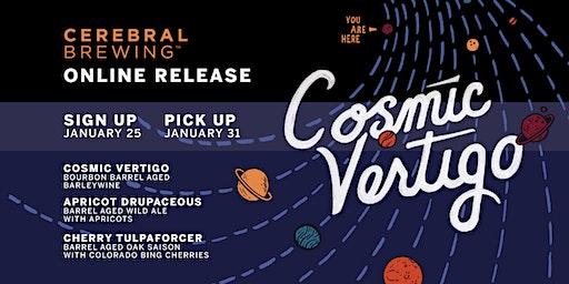 Cosmic Vertigo, Apricot  Drupaceous & Cherry Tulpaforcer Bottle Release