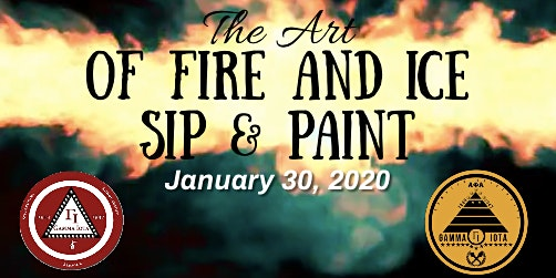 The Art of Fire & Ice Sip & Paint