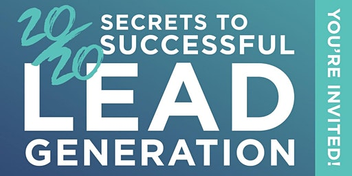"Ann Arbor, MI ""Secrets of Successful Lead Gen"", Feb. 18th"