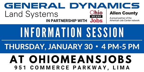 General Dynamics Information Session 4 PM tickets