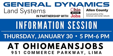 General Dynamics Information Session 5 PM tickets