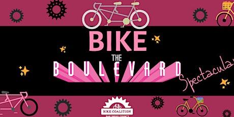 Bike the BLVD Spectacular tickets