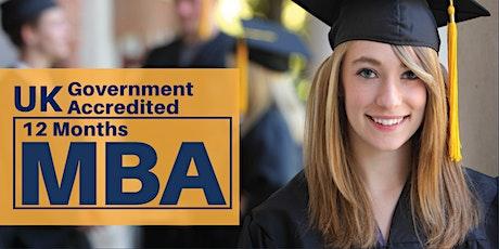 Khobar MBA Seminar - 31st January tickets