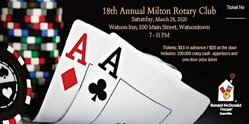 18th Annual Milton Rotary Casino Night