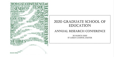 Graduate School of Education Annual Research Conference tickets