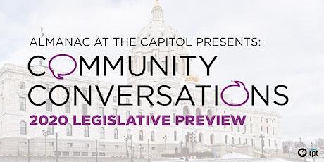 Community Conversations: 2020 Legislative Review tickets