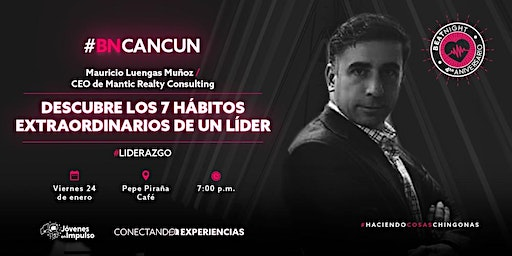 BeatNight Cancún con Mauricio Luengas
