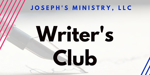 Joseph's Ministry- Writer's Club