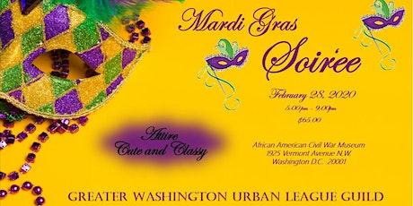 GWUL Guild Mardi Gras Celebration February 28, 2020 tickets