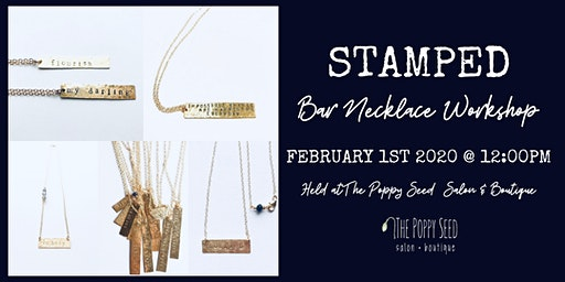 STAMPED Bar Necklace Workshop