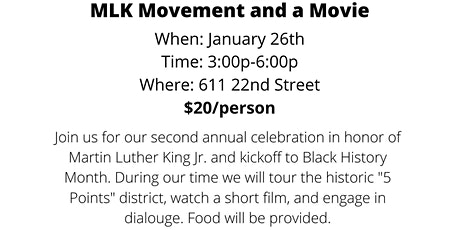 Movement and a Movie tickets